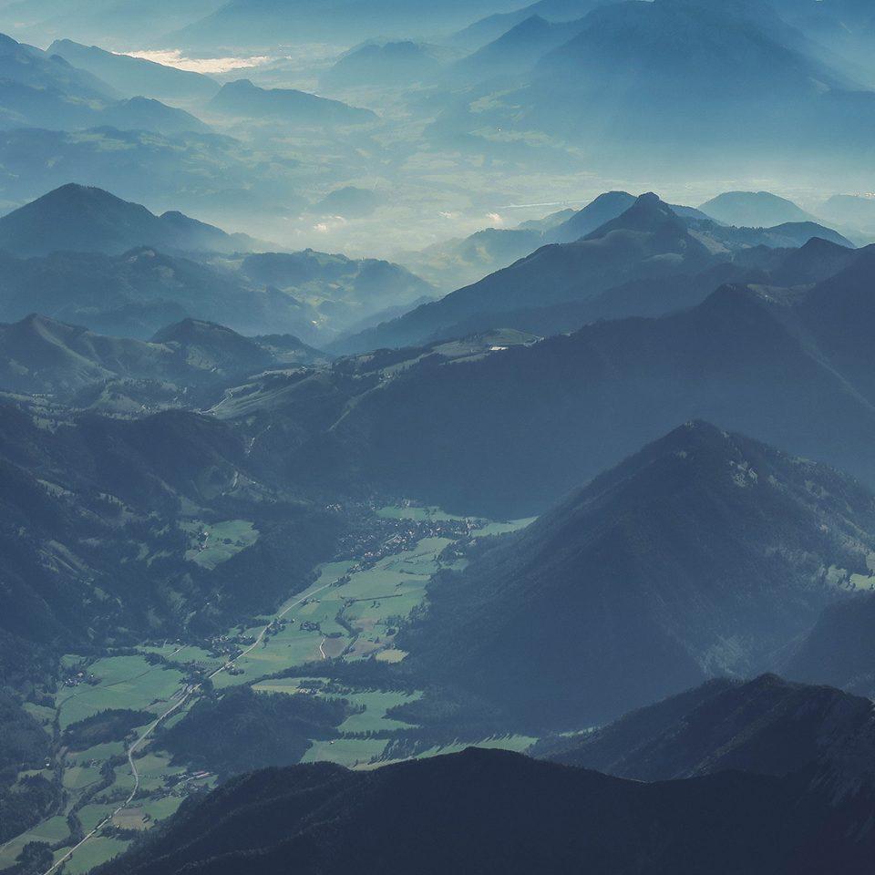 Green Montains Landscape